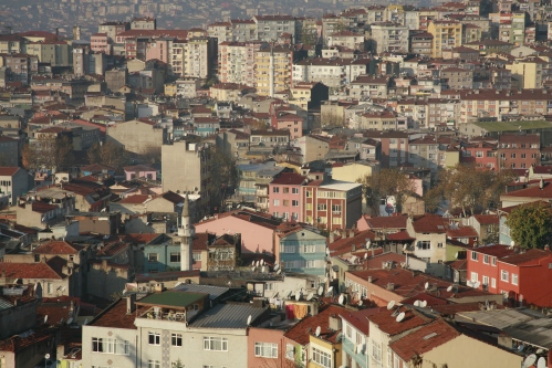 A SEA OF HOME. To a massıve gıant these apartments would look tıny