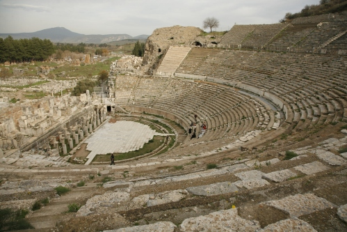 THE GREAT THEATRE. Fırst buılt around