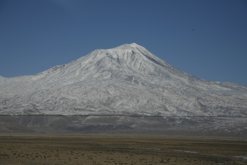 Turkeys` highest mountain, Mt Ararat stands at 5137m tall. Lets put that into perspective. Thats the same as if Senems grandparents were to stand on each others shoulders. 1,712 times.