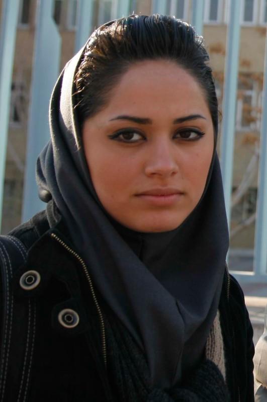 iran beautiful girl shot in the world